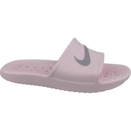 Różowe Klapki Nike Kawa Shower 832655-601