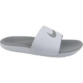 Białe Klapki Nike Kawa Slide 834588-100
