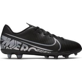 Buty piłkarskie Nike Mercurial Vapor 13 Club FG/MG Jr AT8161 001 czarne czarny