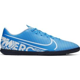 Buty piłkarskie Nike Mercurial Vapor 13 Club Ic M AT7997 414 niebieskie