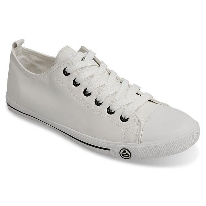 Klasyczne Trampki 9910 Biały białe