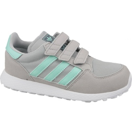 Buty adidas Originals Forest Grove Cf Jr CG6709 szare