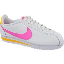 Białe Buty Nike Classic Cortez Leather W 807471-112