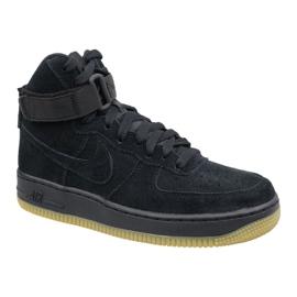 Czarne Buty Nike Air Force 1 High LV8 Gs W 807617-002