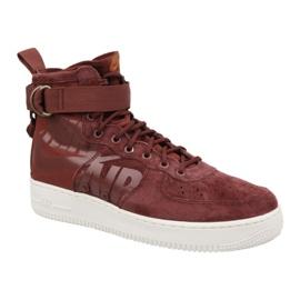 Buty Nike Air Force 1 Sf Mid M 917753-202 czerwone
