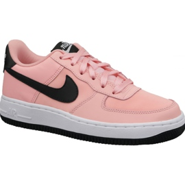 Różowe Buty Nike Air Force 1 VDay Gs W BQ6980-600
