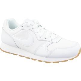 Białe Buty Nike Md Runner 2 Flrl Gs W BV0757-100