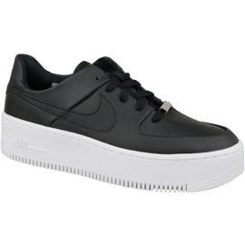 Czarne Buty Nike Air Force 1 Sage Low W AR5339-002