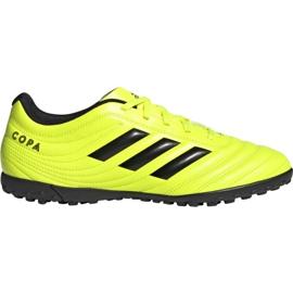Buty piłkarskie adidas Copa 19.4 Tf M F35483 żółte