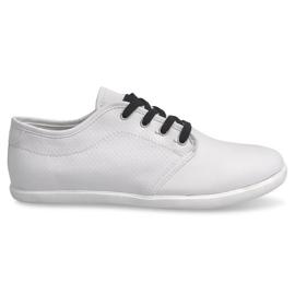 Trampki Męskie 5307 Biały białe