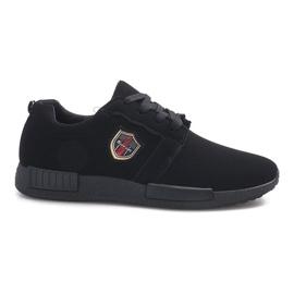 Czarne obuwie sportowe Adamo