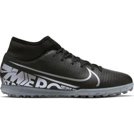 Buty piłkarskie Nike Mercurial Superfly 7 Club Tf M AT7980-001 czarny czarne