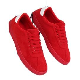 Trampki damskie czerwone LX-9857 Red