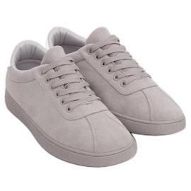 Trampki damskie szare LX-9857 Grey