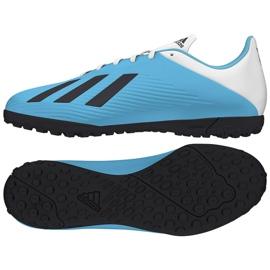 Buty adidas X 19.4 Tf M F35345 niebieskie