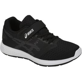 Czarne Buty biegowe Asics Patriot 10 Ps Jr 1014A026-001
