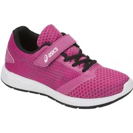 Różowe Buty biegowe Asics Patriot 10 Ps Jr 1014A026-500
