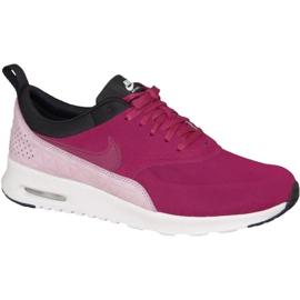 Czerwone Buty Wmns Nike Air Max Thea Premium W 845062-600