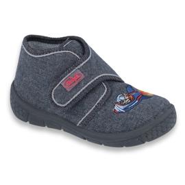 Szare Befado obuwie dziecięce 529P123