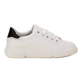 Jumex białe Lekkie Buty Sportowe