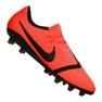 Buty piłkarskie Nike Phantom Vnm Pro AG-Pro M AO0574-600 pomarańczowy pomarańczowe