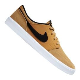 Buty Nike Sb Solarsoft Portmore Ii M 880266-700 brązowe