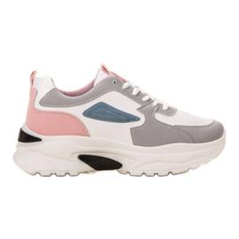 SHELOVET wielokolorowe Casualowe Sneakersy