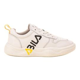 Ax Boxing Modne Buty Sportowe białe