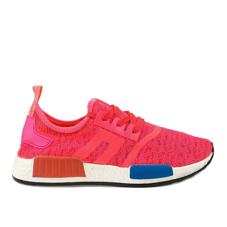 Różowe obuwie sportowe MD01B-4