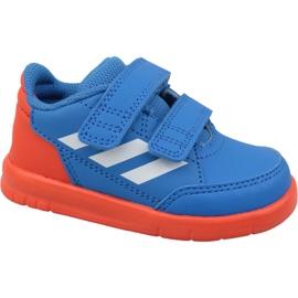 Buty adidas AltaSport Cf I D96842 niebieskie