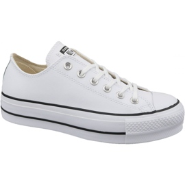 Białe Buty Converse Chuck Taylor All Star Lift Clean Ox W 561680C
