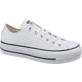 Białe Buty Converse Chuck Taylor All Star Lift Clean Ox W 561680C