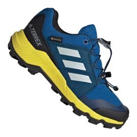 Buty adidas Terrex Gtx Jr BC0599 niebieskie