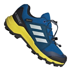 Niebieskie Buty adidas Terrex Gtx Jr BC0599