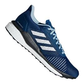 Buty adidas Solar Drive St M D97453 niebieskie
