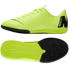Buty Nike Mercurial VaporX 12 Academy Gs Ic Jr AJ3101 701 zielone