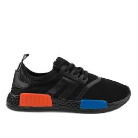 Czarne obuwie sportowe MD01B-2