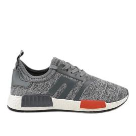 Szare obuwie sportowe MD01B-3
