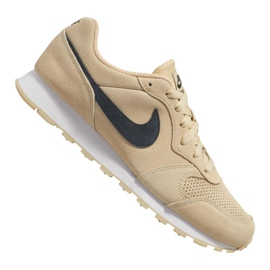 Brązowe Buty Nike Md Runner 2 Suede M AQ9211-700