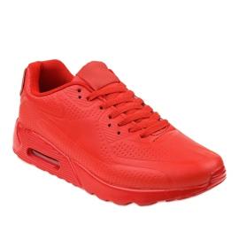 Czerwone męskie obuwie sportowe