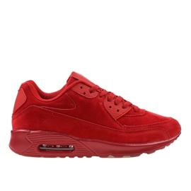 Czerwone męskie obuwie sportowe 55109-2