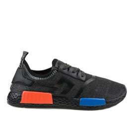 Czarne obuwie sportowe MD01A-6