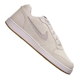 Brązowe Buty Nike Ebernon Low Prem M AQ1774-002