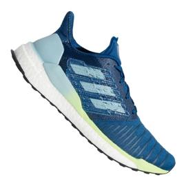 Niebieskie Buty adidas Solar Boost M B96286