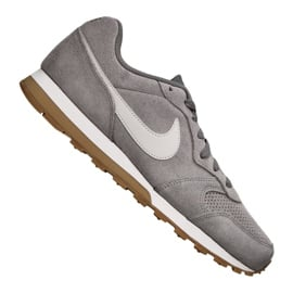 Szare Buty Nike Md Runner 2 Suede M AQ9211-002