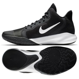 Buty do koszykówki Nike Precision Iii M AQ7495 002 czarne