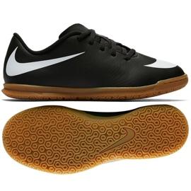 Buty Nike Bravatax Ii Ic Jr 844438 001 czarne