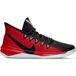 Buty Nike Zoom Evidence Iii M AJ5904 001 czarno-czerwone czarny, czerwony