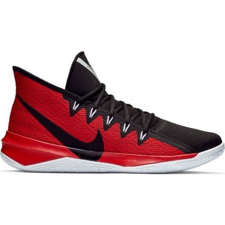 Buty Nike Zoom Evidence Iii M AJ5904 001 czarno-czerwone wielokolorowe