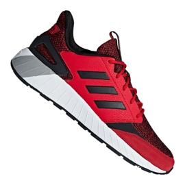 Czerwone Buty adidas Questarstrike M G25772